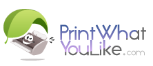 Print What You Like logo with text